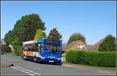 Stagecoach 34816 (Lotsapix) Tags: stagecoach midlands buses dennis dart plaxton pointer kilsby 34816 px06dwa merseyside