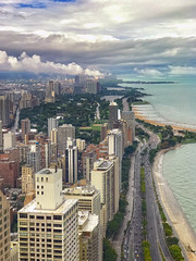 iPhone 7 Plus (jnhPhoto) Tags: iphone7plus jnhphoto chicago lakemichigan lakeshoredrive clouds sky iphone iphoneography