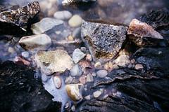 pebbled shores (almostsummersky) Tags: summer bubbles macro jennylake grandtetons pebbles nationalpark waves grandtetonnationalpark water lake tetonrange shore wyoming alta unitedstates us