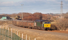 Loading (Dave McDigital) Tags: grid 56 class56 56303 dcr devonandcornwallrailways coal train