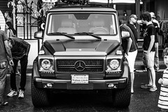 Mercedes G-Wagen (Moo Moo Says the Cow) Tags: mercedes gwagen gclass sanjose carmeet