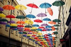 Umbrellas in Bath (aarsten93) Tags: colour kodak explore britain bristol rolleiflex rollei analogue film filmphoto love