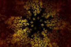 Kieppi_5108 (jukkalaine) Tags: light painting valomaalaus valopaja autumn syksy leaves circle