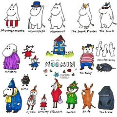 |十二月二日|☁️小週末ヽ( ´ー`)丿☁️#キキ🍧 #嚕嚕米 #moomin #muumi #ミムラ