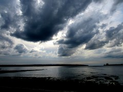 Vancouver Seawall Sky and Ocean View (www.metaphoricalplatypus.com) Tags: vancouver bc britishcolumbia canada seawall clouds sky ocean water storm