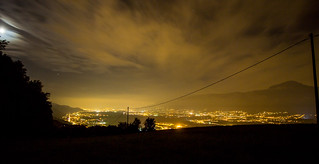 Grenoble by night