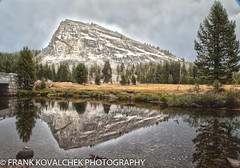 Reflection of Lembert Dome (Alaskan Dude) Tags: travel california yosemite yosemitenationalpark tiogapass sierranevada mountains landscape nature scenery 5photosaday nationalpark outdoor