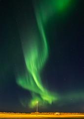 Just when you think it's over... (katrin glaesmann) Tags: garur iceland northernlights auroraborealis nordlicht polarlicht unterwegsmiticelandtours photographyholidaywithicelandtours