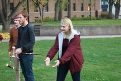 Halloween Game Night 2016 (University of Minnesota, Morris Alumni Association) Tags: halloween gamenight library costume croquet