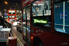 Terrorist Alert (cybertect) Tags: 29 arriva arrivalondon canonfd35mmf2ssc charingcrossroad eveningstandard hv103 lj13fbz london londonwc2 londonbus sonya7 volvob5lh wc2 wrighteclipsegemini2 wrighteclipsegeminiii bus doubledecker newspaper route29 traffic