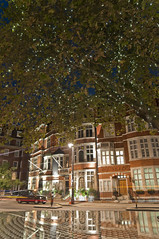 Mayfair architecture (Vladimir Yaitskiy) Tags: mayfair london unitedkingdom architecture mirror reflection building tree hdr lights night window windows exterior design taxi cab street outdoor outdoors connaught