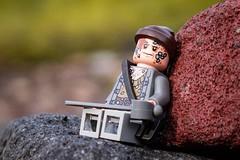 So tired (yudho w) Tags: lego potc disney pirateofthecarribean legopirate billturner minifigure