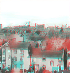 hulme1 (The_Jon_M) Tags: 3d 3ds stereogram prisma october 2016 october2016 oct anaglyph redcyan england uk europe urban alcatelpop4 alcatel manchester hulme greatermanchester greater