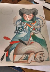 La-Mala (natokowski) Tags: dibujos drawings