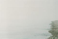 (annadosenes) Tags: photography england dorset sea atlantic ocean film 35mm zenit zenit11 analog travel trip journey discover adventure calm beach water fog mist mood minimal uk united kingdom june summer