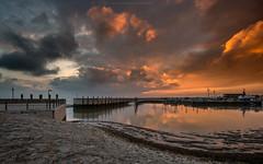 Neuharlingersiel Sunset (Sascha Gebhardt Photography) Tags: nikon nikkor 1424mm d800 lightroom sunset see sea sky nordsee ozean ocean photoshop fototour fx cc landscape landschaft