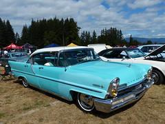 Lincoln Premiere (bballchico) Tags: 1957 lincoln premiere 4door arlingtoncarshow carshow 50s 206 washingtonstate arlingtonwashington