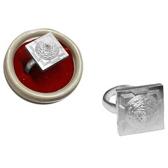 Shree Yantra Ring, Sri Chakra Ring,Meru Shreeyantra Vedic Vaani (vedicvaani) Tags: ring yantra shree silver meru sri chakra yantram shri