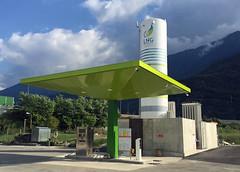 Estación de servicio Maganeti en Gera Lario (Italia)