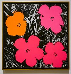 Minneapolis Institute of Art (faasdant) Tags: minneapolis institute art mia museum gallery minnesota mn andy warhol flowers 1964 ink acrylic paint silkscreen pop