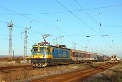 Autumn Sun at Zimnitsa (Krali Mirko) Tags: bdz train electric locomotive electroputere koncar 46 211 46211 zimnitsa bulgaria railway transport