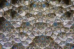 Portal at Nasir ol Molk Mosque (West Sichuan) Tags: iran shiraz nasirolmolkmosque pinkmosque
