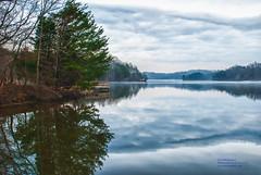 Reidsville Lake, NC (Linda S. Montgomery) Tags: reidsvillelake lakescene lake landscape lakescape