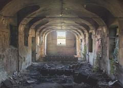 lostTheater (FoKus!) Tags: lost theater urbex explo exploration decay abandon abandoned left empty unused derelict place italy italia italie eu ue europe urban villa moglia