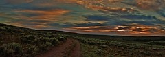 A Road less Travled (Rosewood Street Photo) Tags: steens oregon sunset mountians