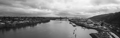 Willamette (retsoced) Tags: portland oregon pacificnw stjohns overcast fall bridges willametteriver