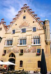 Ulm, Vroshza homlokzata (ossian71) Tags: nmetorszg germany deutschland ulm plet building memlk sightseeing medieval kzpkori vroshza rathaus