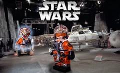 LEGO Star Wars- X-Wing Pilot Luke Skywalker (Sir Prime) Tags: lego starwars anewhope rogue one theempirestrikesback luke skywalker xwing custom moc