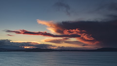 Fiery Sunrise over the Island of Raasay from the Isle of Skye (MelvinNicholsonPhotography) Tags: isleofskye skye scotland sunrise fierysunrise ocean water skk coulds colour melvinnicholsonphotography wwwmelvinnicholsoncouk gitzo manfrotto leefilters mindshift seascape