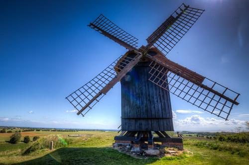 Brundby Mill, Samsoe, Denmark