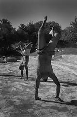 Churshat Tal Palestine (Stefano-Bosso) Tags: shadow people bw love monochrome sport vertical kids canon mono monocromo israel blackwhite palestine middleeast guys acrobatic palestinian noiretblac blackwhitephotos stefanobosso