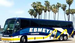 Ebmeyer charter at Santa Barbara (ebmeyerchartpix) Tags: california beach buses mci charterbus e4500 ebmeyer ebmeyercharter ebmeyercharterbus