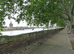 Quai Lucien Lombard.Toulouse. Hte Garonne. (fvib'r) Tags: perspective perspectives toulouse garonne quai hautegaronne