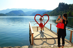 Lake Bled (Lavender0302) Tags: travel slovenia bled lakebled