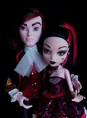 Valentine&Draculaura (_Caledonia_) Tags: san comic diego valentine kieran con 2015 draculaura drakulocker