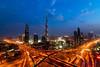 Dubai (TARIQ HAMEED SULEMANI) Tags: sunset canon evening dubai cityscape middleeast tariq supershot concordians sulemani