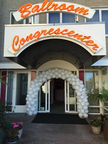 Ballonboog 6m Bedrukte Ballonnen Carlton Oasis Hotel Spijkenisse