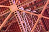 """Looking Up under the Big Bridge"" (rbeebephoto) Tags: sanfrancisco california pentax september goldengatebridge bayarea fortpoint sanfranciscobay k5 ftpoint ggnra 2015 tamronaf18200mmf3563ifmacro copyrightrichardbeebe2015 ©richarddbeebe2015"