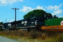 Norfolk Southern (Littlerailroader) Tags: railroad train massachusetts trains locomotive locomotives railroads ayer