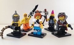 The crew (tmachine360) Tags: lego apocalypse characters moc figbarf