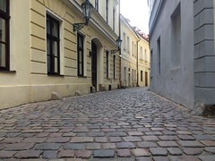 Cobblestones.