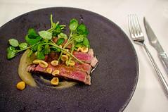 Dry-aged Beef, Hazelnuts, Cress (Premshree Pillai) Tags: food holland netherlands amsterdam dinner restaurant tasting jordaan dinnerforone daalder amsterdamaug15