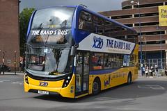 Johnsons SN65OJB (Will Swain) Tags: city uk travel england west bus buses birmingham britain centre transport september 16th johnsons midland midlands 2015 sn65ojb