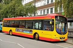 YN05GXH 78 Midland classic in Burton on trent (martin 65) Tags: road bus classic public buses transport trent vehicle e200 midland burton scania midlands on staffs wrightbus