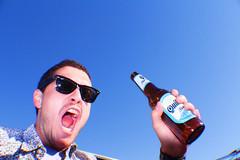(pedropapini) Tags: world chile travel blue color beer argentina brasil digital canon photography rebel photo flash grain pedro atacama viagem cerveja mundo quilmes kombi t2i papini