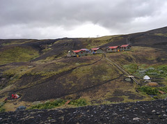 Berghütte Botnar / Emstrur - Laugavegur - Trekking auf Island